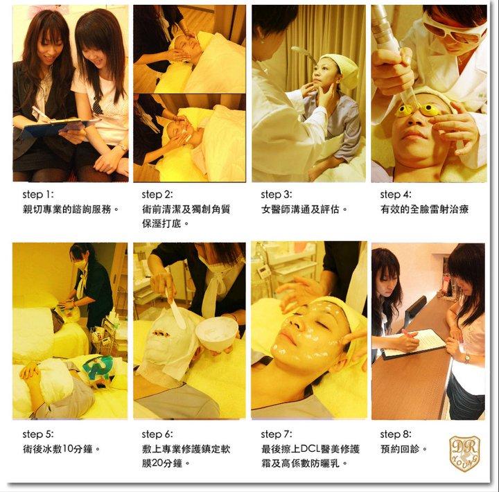八倍淨膚雷射 保濕導入 醫學美容