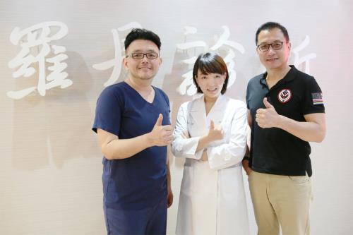 兩大名醫聯手 植髮+消除眼袋手術+填補淚溝手術讓艾偉帥氣再現